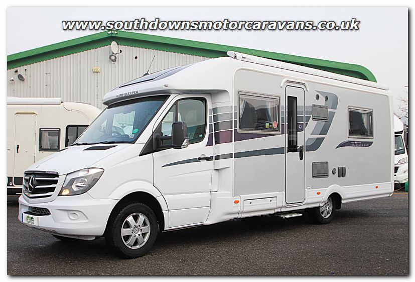 Southdowns used auto sleeper burford duo mercedes benz 2 for Mercedes benz rv used