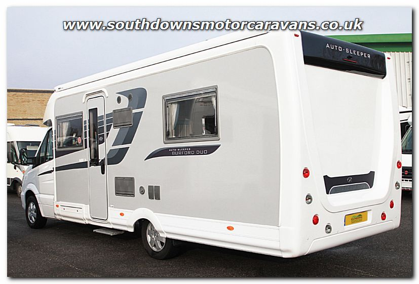 Auto Sleepers For Sale Uk: Used Auto-Sleeper Burford Duo Mercedes Benz 2