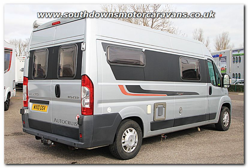 Click To Enlarge The Picture Of Used Autocruise Accent Peugeot 22L 120 Van Conversion Motorhome