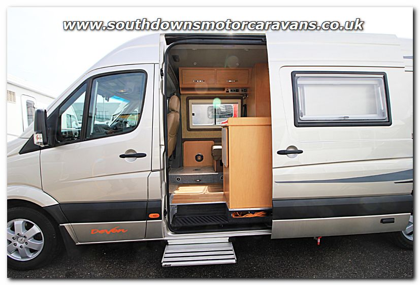 Click To Enlarge The Picture Of Used Devon Sapphire Mercedes Benz Sprinter 22L Automatic Van