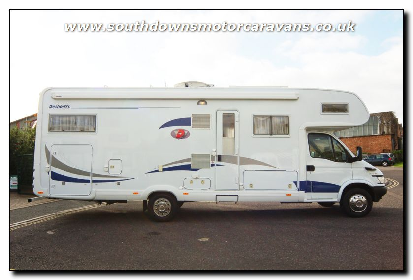 See lots more photo galleries of new and used motorhomes for sale on ...: www.southdownsmotorcaravans.co.uk/stock/2355/used-dethleffs...