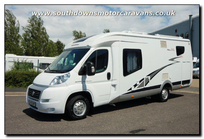 d570f63a6f3 Southdowns | Used Hobby Van Exclusive DL550 GESC Motorhome U2559 8 ...