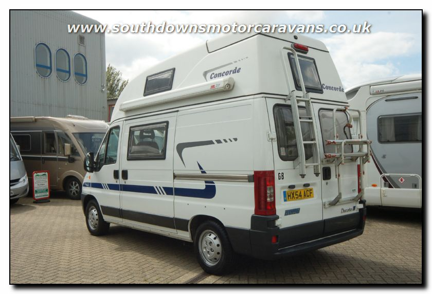 Southdowns used concorde compact motorhome u2620 6 47 for Used small motor homes