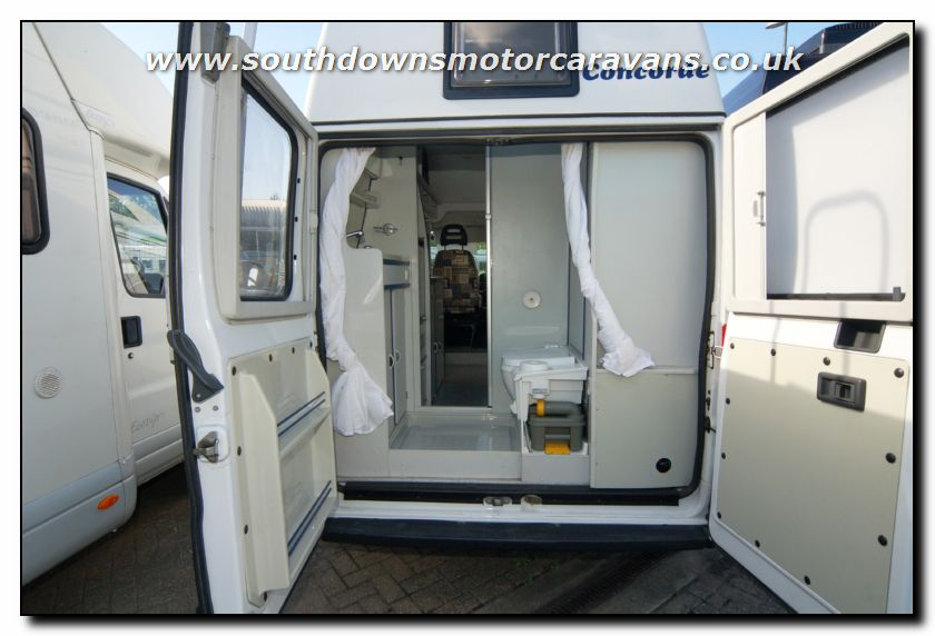 Southdowns used concorde compact motorhome u2620 8 47 for Used small motor homes