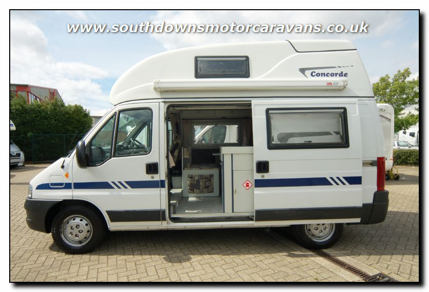 Southdowns used concorde compact motorhome u2620 9 47 for Used small motor homes