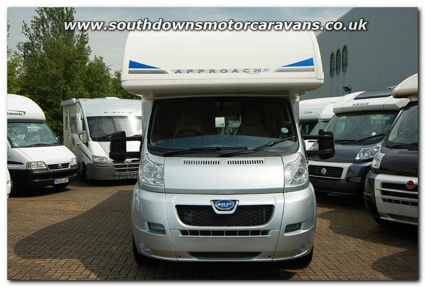 Popular Southdowns | New 2013 Bailey Approach SE 760 Motorhome N2742 Photo Gallery