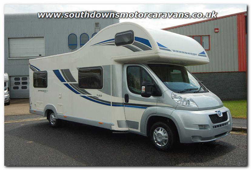 Elegant Southdowns | New 2013 Bailey Approach SE 760 Motorhome N2742 Photo Gallery