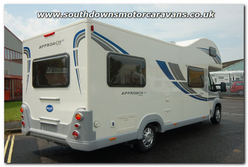 Cool Southdowns | New 2013 Bailey Approach SE 760 Motorhome N2742 Photo Gallery