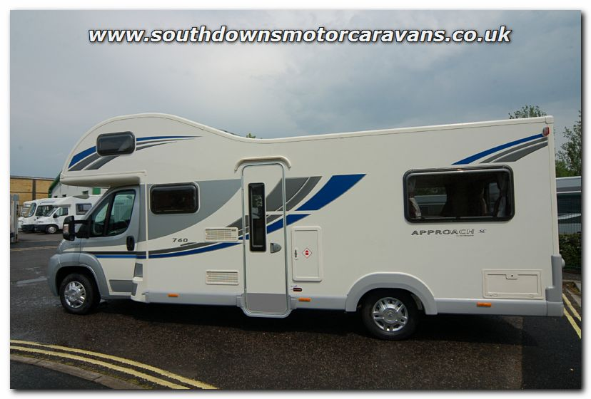 Brilliant Southdowns | New 2013 Bailey Approach SE 760 Motorhome N2742 Photo Gallery