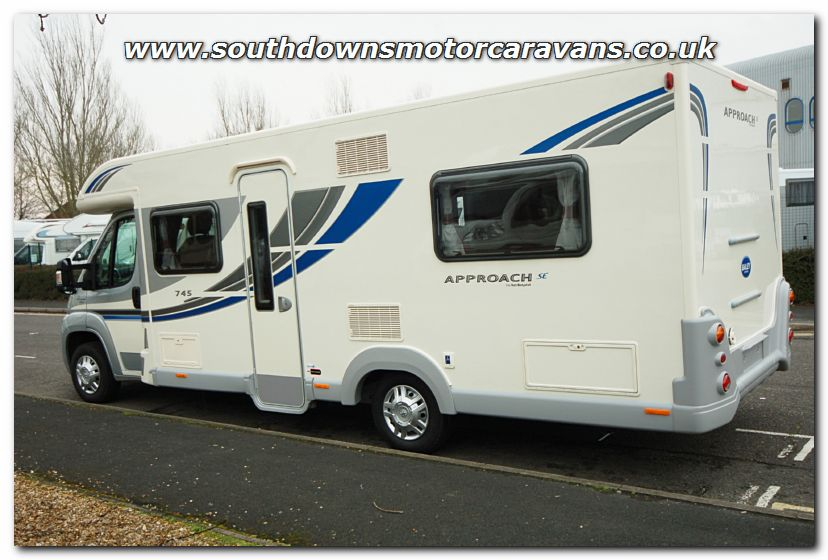 Beautiful Southdowns | New 2013 Bailey Approach SE 745 Motorhome N2745 Photo Gallery