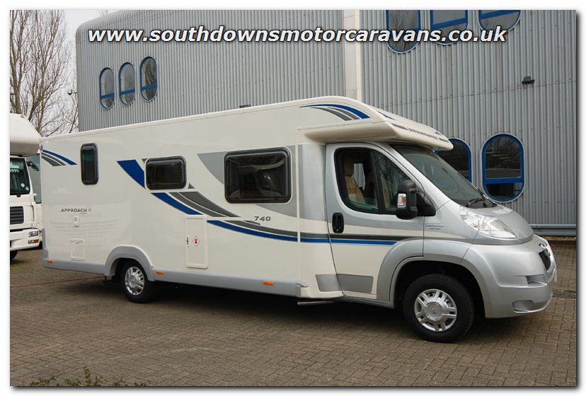 Elegant Southdowns | New 2013 Bailey Approach SE 740 Motorhome N2746 Photo Gallery