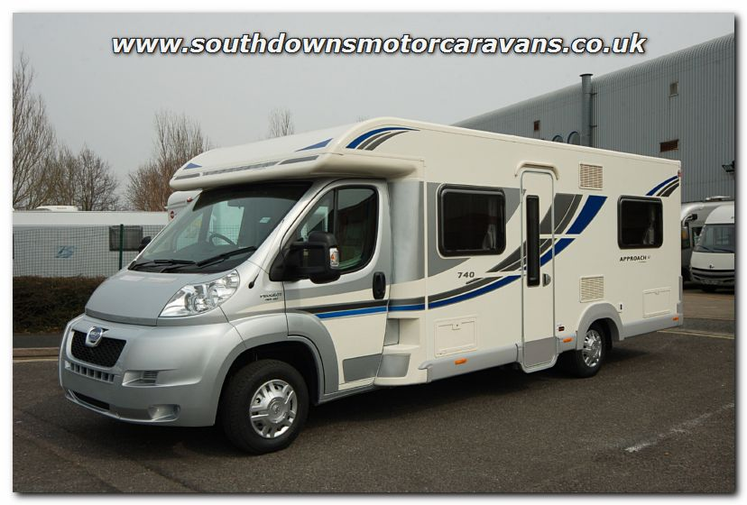 Excellent Southdowns | New 2013 Bailey Approach SE 740 Motorhome N2747 Photo Gallery