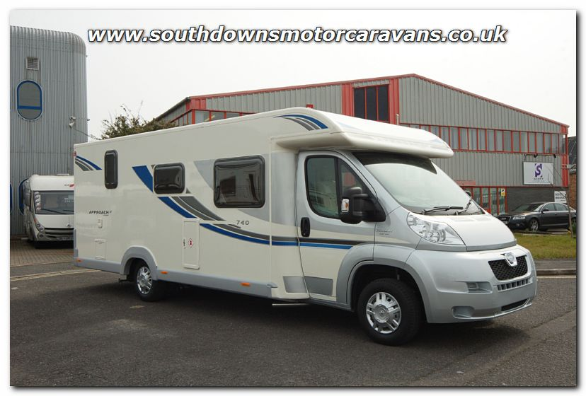 Original Southdowns | New 2013 Bailey Approach SE 740 Motorhome N2747 Photo Gallery
