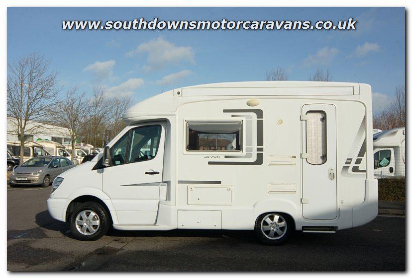 Southdowns Used Autosleeper Devon Motorhome U2827 Photo