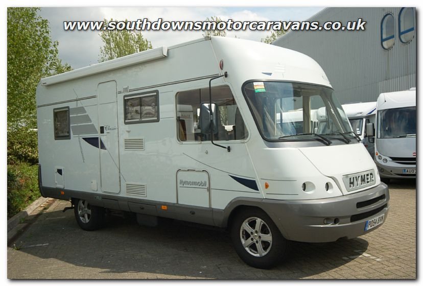 Southdowns used hymer 575 classic a class motorhome for Classic motor homes for sale