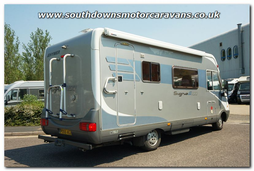 Southdowns used hymer classic b544 signo 100 motorhome for Classic motor homes for sale