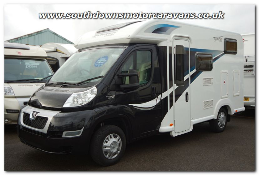 Southdowns new 2014 bailey approach compact 520 for Used small motor homes