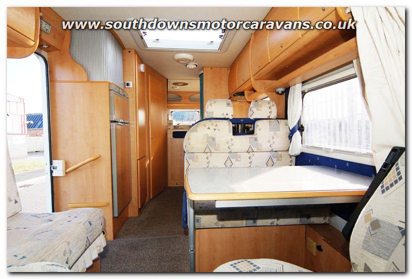 Southdowns Used Mclouis Tandy Plus 670g Motorhome U2972 Photo Gallery