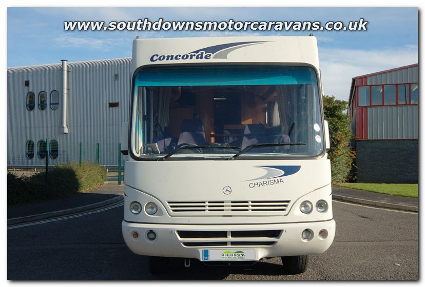 Southdowns used concorde charisma 800l mercedes benz for Mercedes benz rv used
