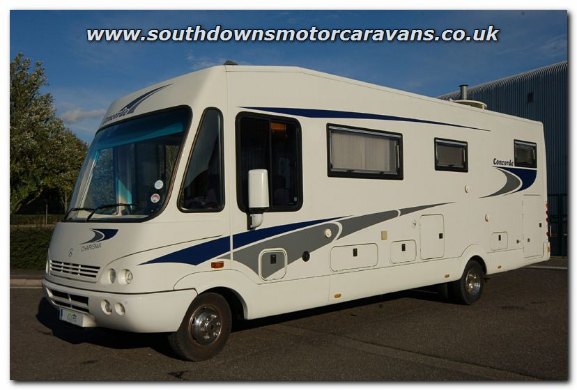 Southdowns used concorde charisma 800l mercedes benz for Mercedes benz motor home